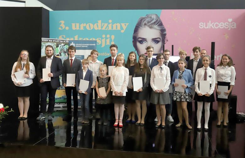 Gala wręczenia stypendiów odbyła się w środę w Centrum Handlowo-Rozrywkowym Sukcesja