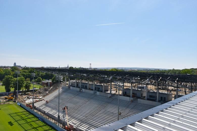 Stadion Miejski w Szczecinie - wieści z budowy.