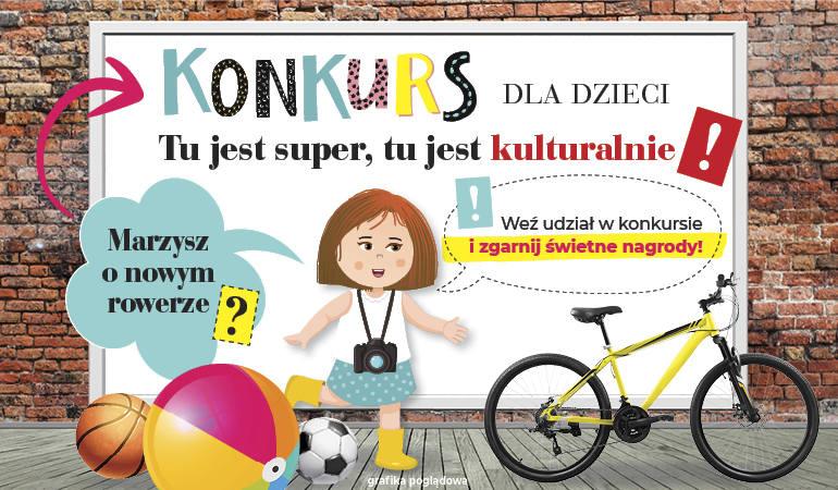 Rowery i sprzęt sportowy – takie nagrody czekają na najmłodszych w naszym konkursie plastycznym!