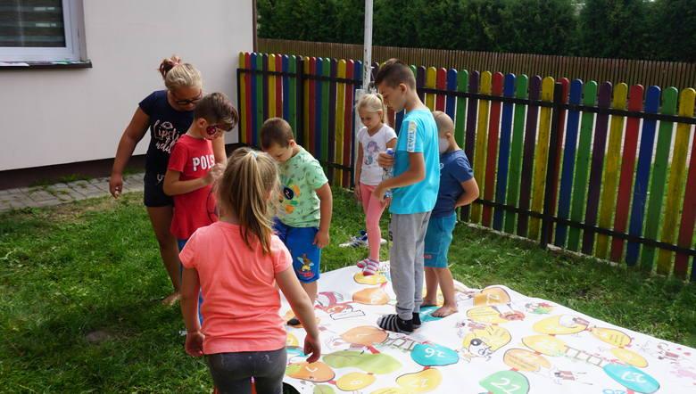Dzieci miały mnóstwo zajęć