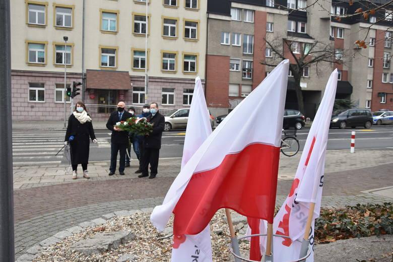 39 rocznica ogłoszenia stanu wojennego w Polsce. Obchody w Opolu.