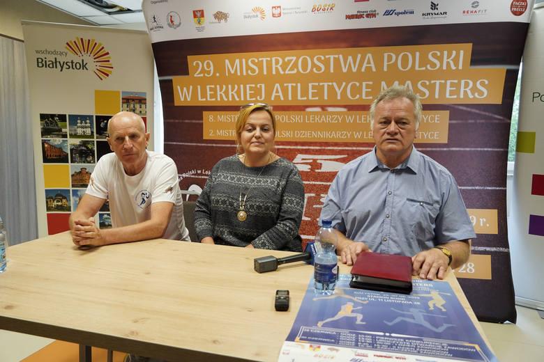 Jerzy Mydlarz, Edyta Mozyrska i Wacław Krankowski sa pewni, że w Białymstoku zobaczymy udane i ciekawe zawody