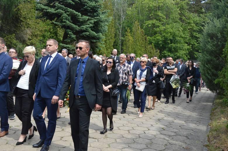Pogrzeb Zygmunta Stabrowskiego w Zielonej Górze