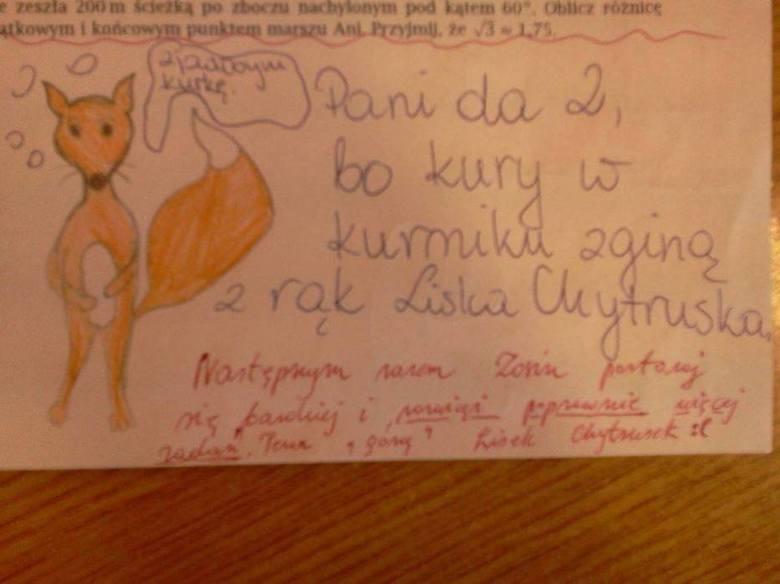 Trudno uwierzyć, co na klasówkach potrafią pisać (i nie tylko!) polscy uczniowie. Oglądając te sprawdziany, uśmiejecie się do łez, zwłaszcza że poczucia