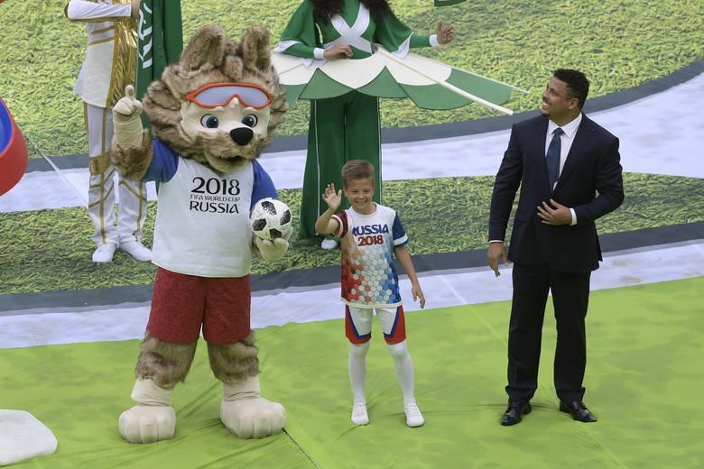 Robbie Williams, Aida Gaifullina, Ronaldo, Wladimir Putin i Gianni Infantino otworzyli rosyjski mundial