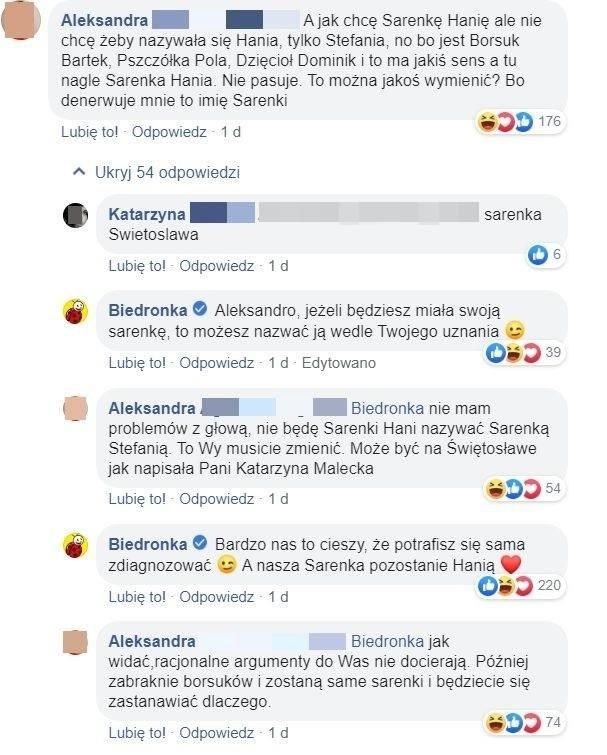 Gang Słodziaków 2019. Klientka oburzona o Sarenkę Hanię. Biedronka ripostuje
