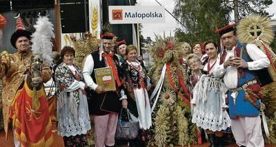 Kościelecka delegacja w Spale Fot. archiwum UGIM w Proszowicach