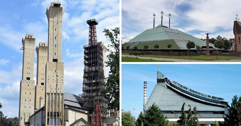 Skocznia narciarska, ufo, elewator. Zobaczcie najdziwniejsze kościoły na Śląsku. Takie projekty powstawały w PRL, ale nie tylko. ZOBACZCIE NAJDZIWNIEJSZE