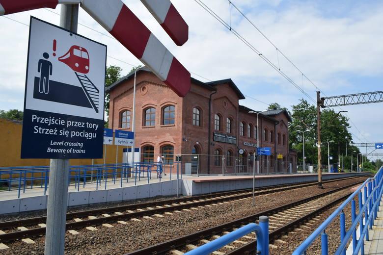 Dworzec w Wodzisławiu Śl. już po remoncie