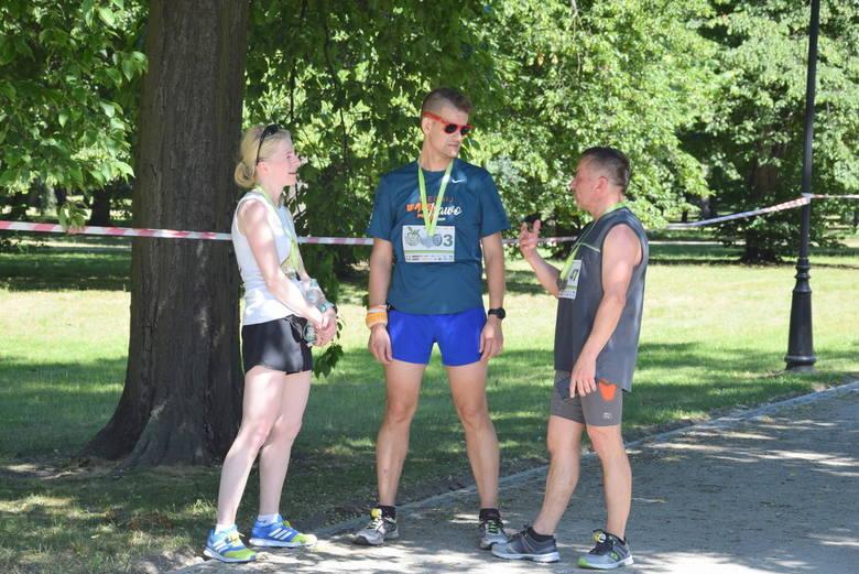 II Bieg Zielonego Jabłuszka w Parku Miejskim w Skierniewicach [ZDJĘCIA, FILM]