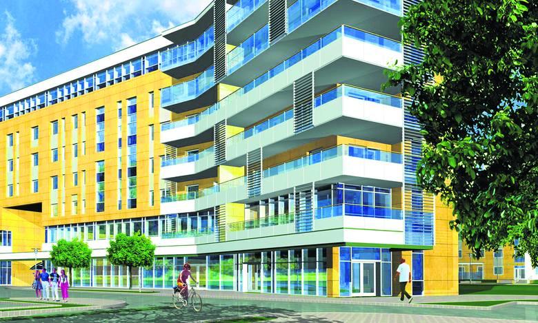 Każdy z zespołów budynków na Osiedlu Marcelin będzie oddzielony od pozostałych i zapewni prywatność mieszkańcom