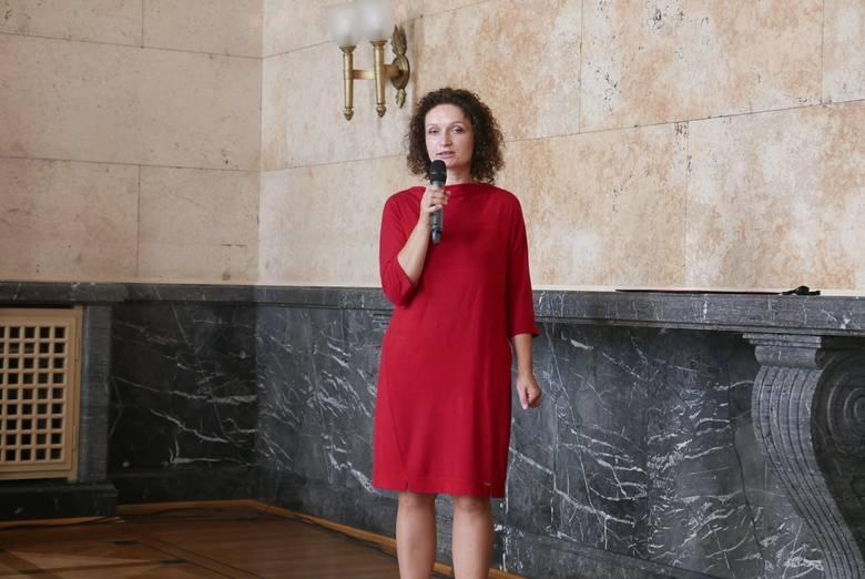 500 plus: konferencja w Śląskim Urzędzie Wojewódzkim w Katowicach z udziałem Elżbiety Ulman ze Sławkowa