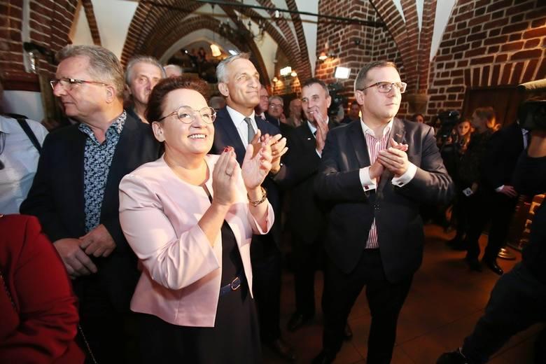 Tak z wyników cieszyli się wrocławscy działacze PiS
