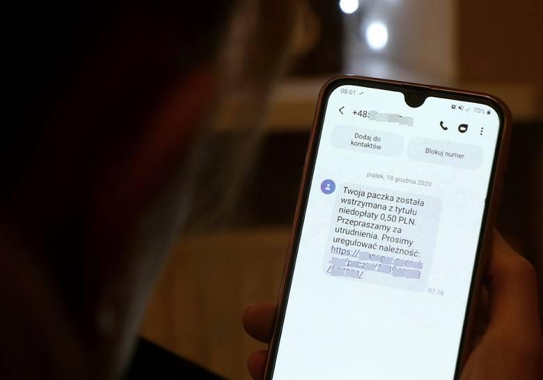 Nie dajcie się nabrać na takie SMS-y