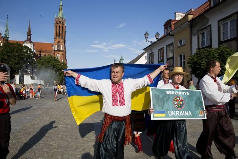 Podlaska Oktawa Kultur 2014. Parada