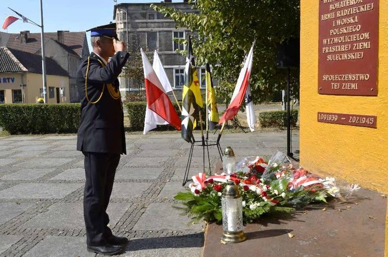 Sulęcin: uroczystości z okazji rocznicy wybuchu II wojny światowej.
