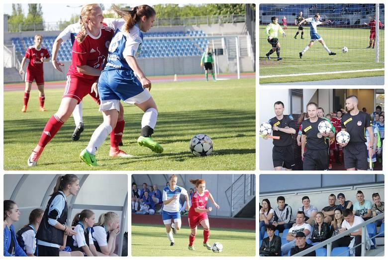 Mecz III ligi piłki nożnej kobiet WAP Włocławek - UKS Mustang Wielgie 5:2 (3:0)Gole strzeliły: Oliwia Frontczak (3), Magda Górska, Julia Kazanecka -