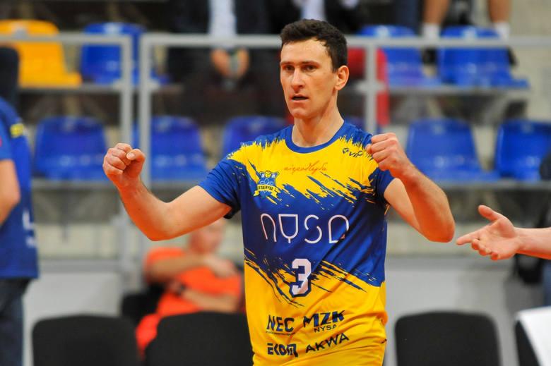 Łukasz Kaczorowski niedawno powrócił do gry po kontuzji stawu skokowego.