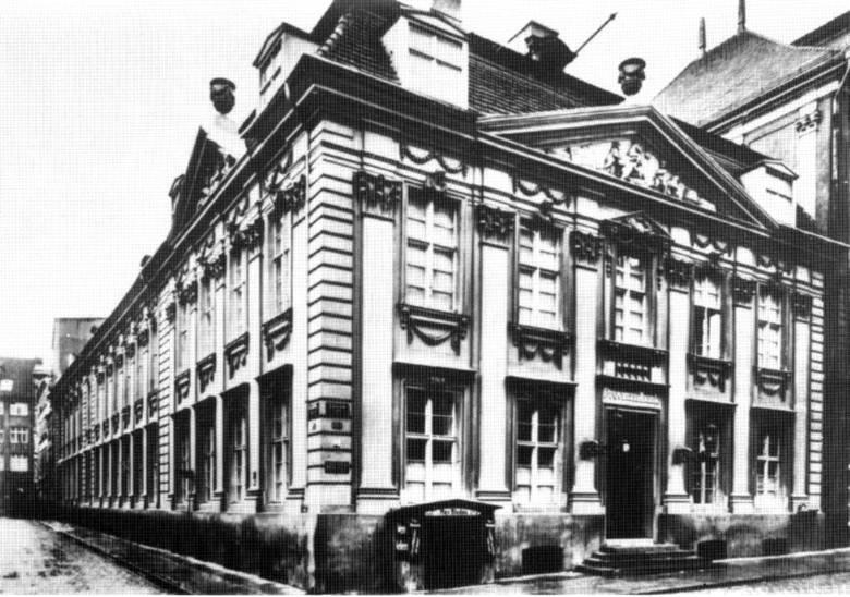 Dom kupca Velthusena zbudowany ok.1780 r.