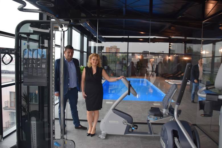 Ewa Piotrowska-Gosk i Marek Piotrowski z zarządu firmy Mep-Pol zapewniają, że warto było zawalczyć o pięć gwiazdek, żeby wyróżnić Hotel Royal&Spa