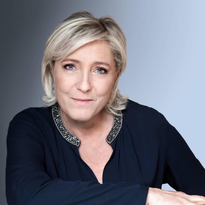 Marine Le Pen - od 2011 r. kieruje Frontem Narodowym (zastąpiła swego ojca Jean-Marie Le Pena). Od 2004 r. europosłanka. Jest jedną z faworytek w przyszłorocznych