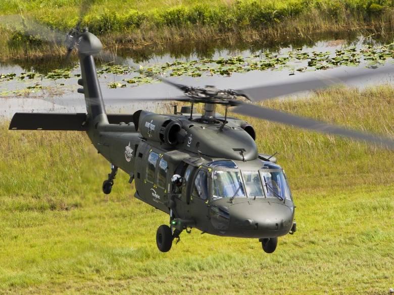 Pierwszy helikopter Black Hawk trafi z Mielca do Brunei na początku 2013 r. Fot. PZL Mielec