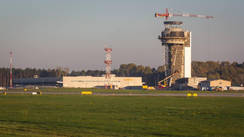 Tak wygląda nowa wieża kontroli lotów w Pyrzowicach