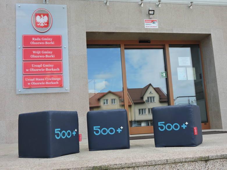 Olszewo-Borki. Akcja promocyjna rozszerzonego programu 500+