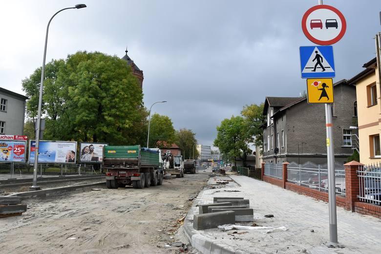 Remont ulicy Oleskiej w Opolu