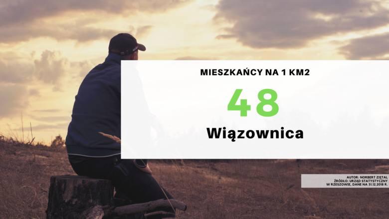 28. miejsce - gmina Wiązownica.