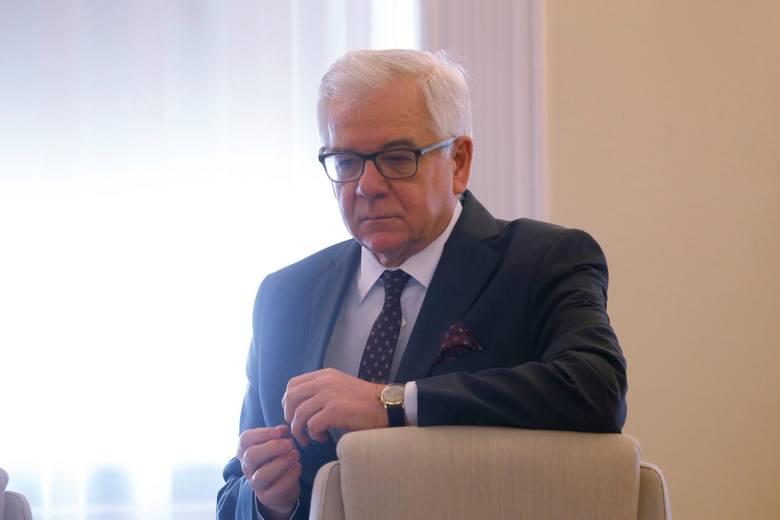 """Rekonstrukcja rządu. Minister Jacek Czaputowicz: """"To jest dobry moment na zmianę na czele naszej dyplomacji"""""""