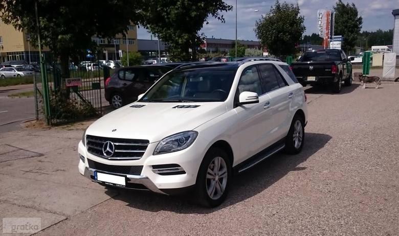 Mercedes-Benz Klasa ML W166139 500,00 złPrzebieg 81800Miejscowość BiałystokRok produkcji 2013
