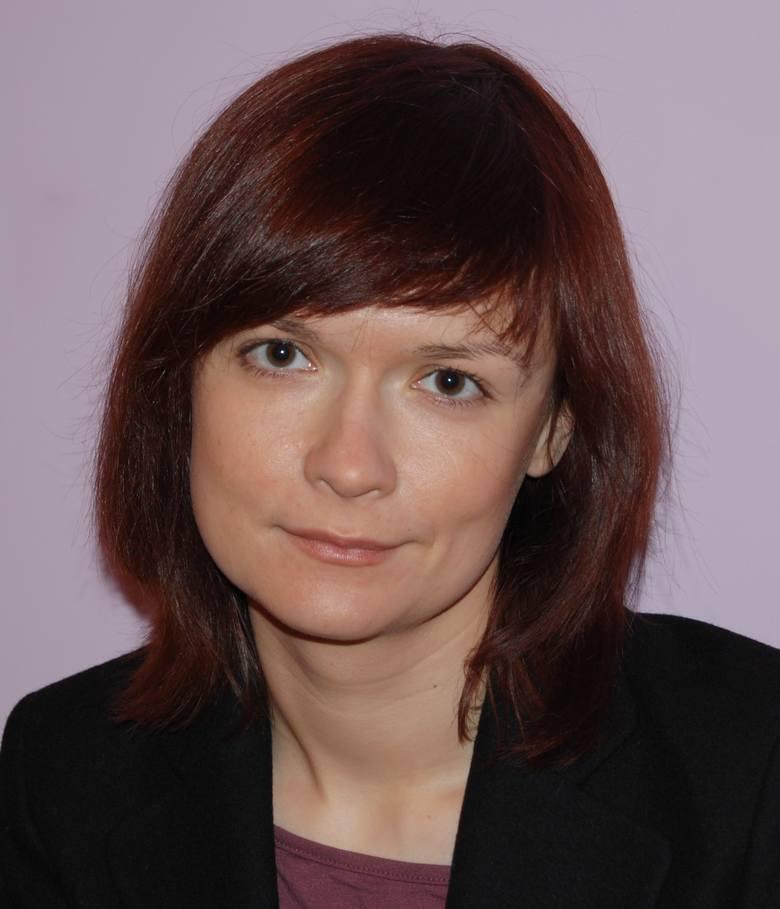 Dr Magdalena Nowak - Paralusz, politologi i socjolog z WSB w Toruniu.