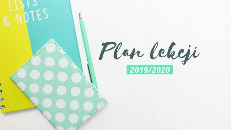 Plan lekcji 2019/2020 ONLINE do pobrania - różne wzory! Wybierz ulubiony i wydrukuj