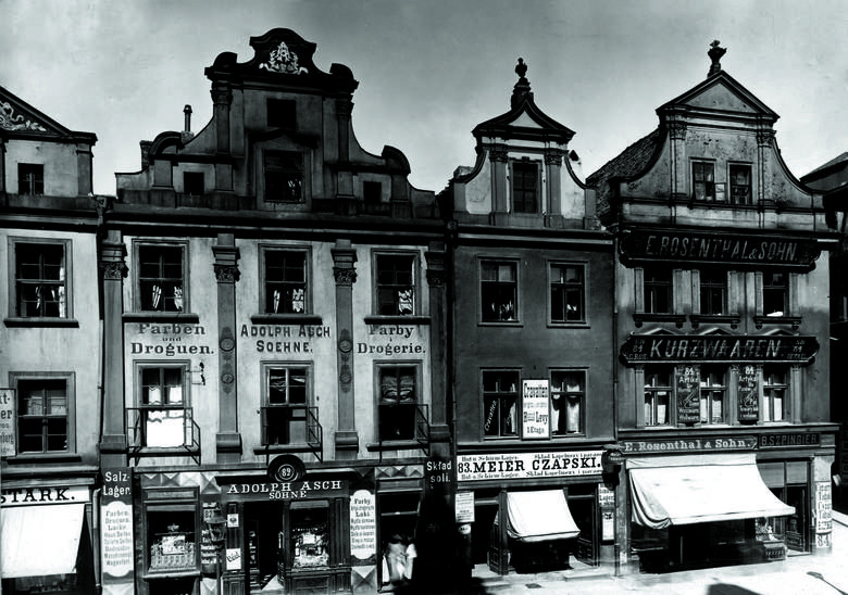Kaminice 81, 82, 83 (na zdjęciu od lewej) były własnością Józefa Kościelskiego, wielkopolskiego działacza politycznego i mecenasa sztuki.
