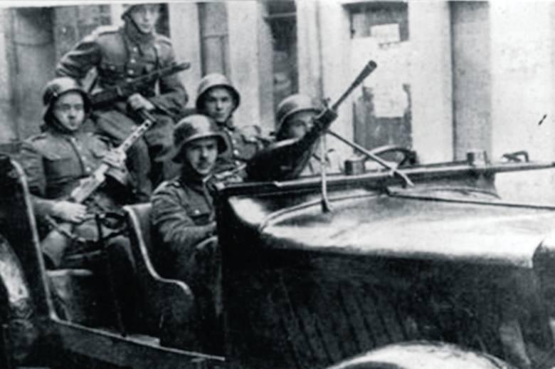 Krosno Odrz., 1945 r. Nikt nie wie, dlaczego żołnierze Armii Czerwonej podpalili miasto.