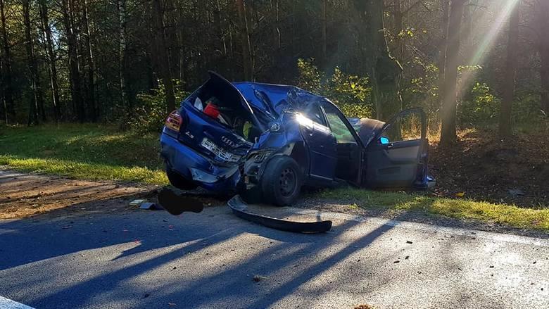 We wtorek, niedaleko miejscowości Horodnianka, na drodze krajowej numer 8 doszło do poważnego wypadku.Zdjęcia pochodzą z fanpage'a: OSP Sztabin