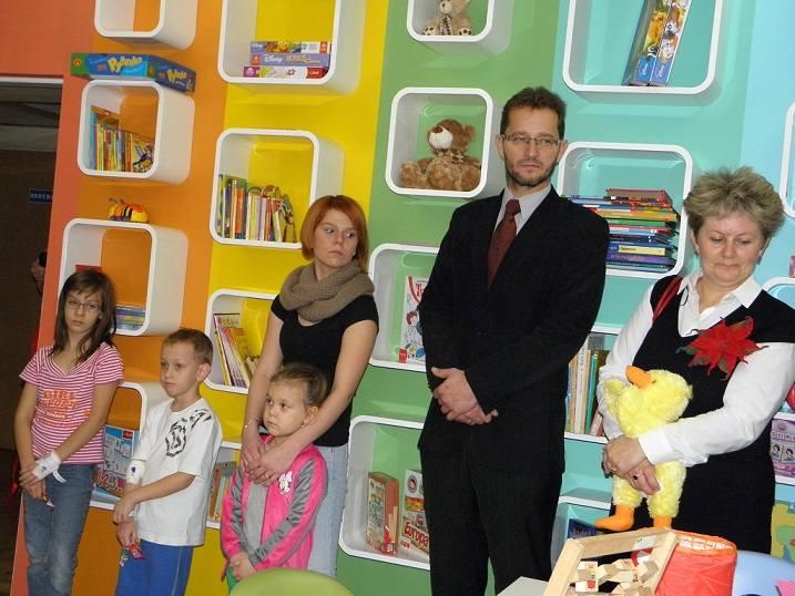 Pokój Życzliwości dla chorych dzieci powstał na oddziale pediatrycznym żorskiego szpitala. Tutaj dzieci zapominają o chorobie i uśmiechają się