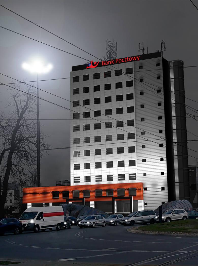 Siedziba Centrali Banku Pocztowego w Bydgoszczy przechodzi gruntowny remont. Na razie prowadzone są prace wewnątrz budynku. Potem zostanie odnowiona
