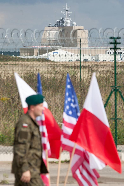 Minister Mariusz Błaszczak z wizytą w Redzikowie.