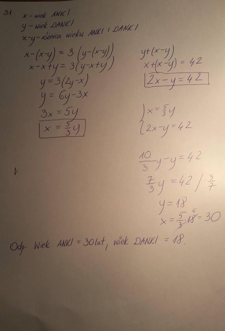 matura probna matematyka operon 2012