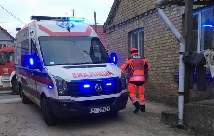 W czwartek, około godziny 14.35, strażacy zostali wezwani na ulicę Branickiego w Choroszczy do podejrzenia zatrucia tlenkiem węgla.