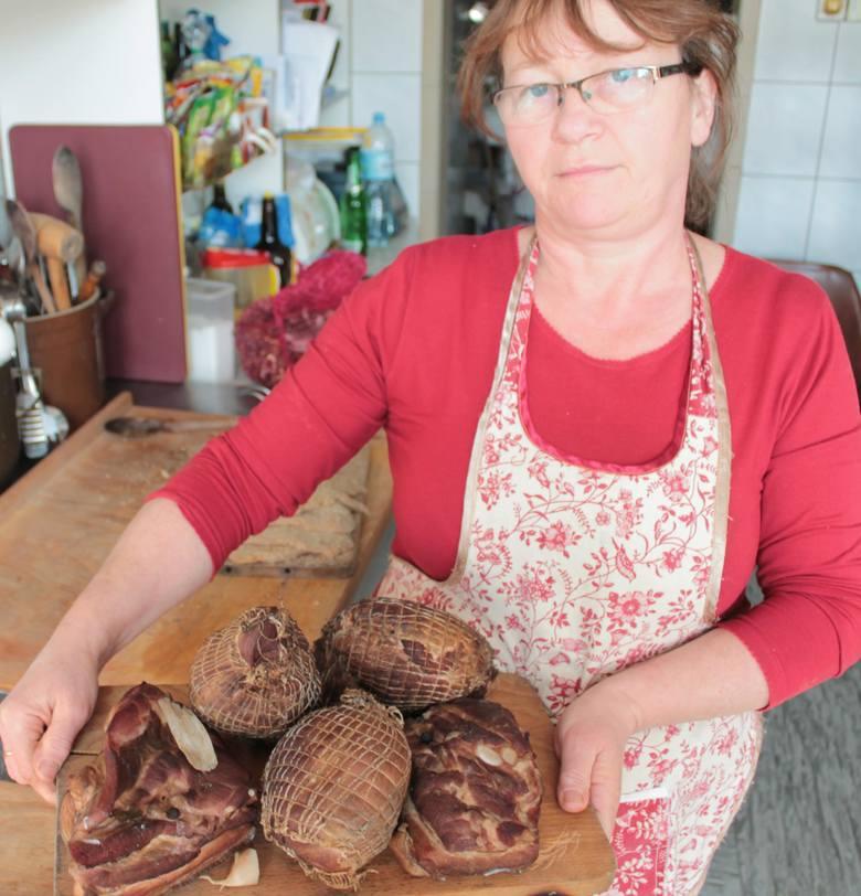 Zofia Szarawara ze Zdyni jest specjalistką od domowych wędlin. By móc rozkoszować się smakiem tradycyjnej szynki czy boczku, trzeba ustawiać się w kolejce.