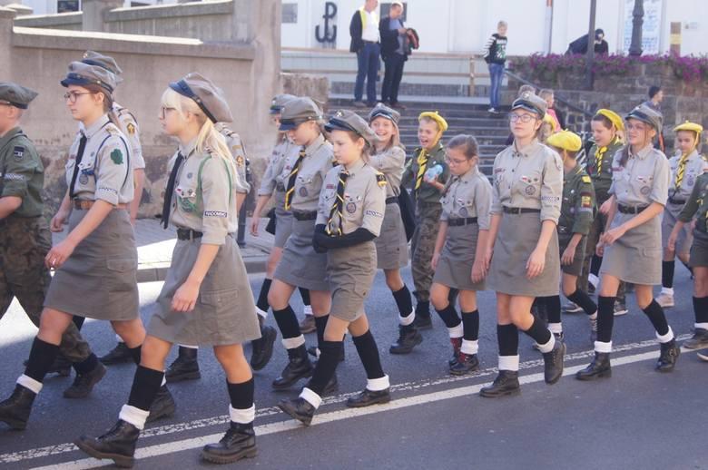 Święto Chorągwi Łódzkiej 2019 w Radomsku. Uroczysty apel z nagrodami i odznaczeniami
