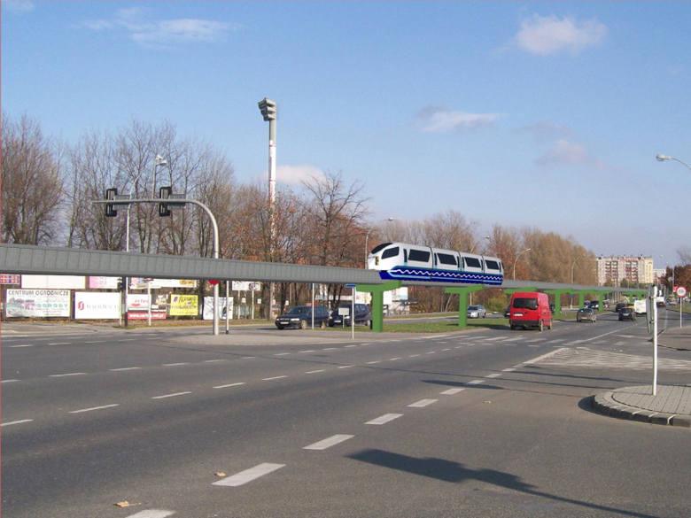 Miejska kolejka w Rzeszowie - wizualizacje