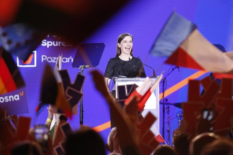 """Sylwia Spurek kandyduje z pierwszego miejsca na liście """"Wiosny"""" w okręgu wielkopolskim."""