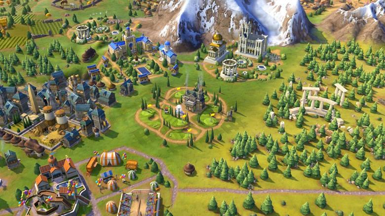 Civilization VI: Rise and FallPole golfowe to unikalne ulepszenie pola dla Szkocji w grze Civilization VI: Rise and Fall