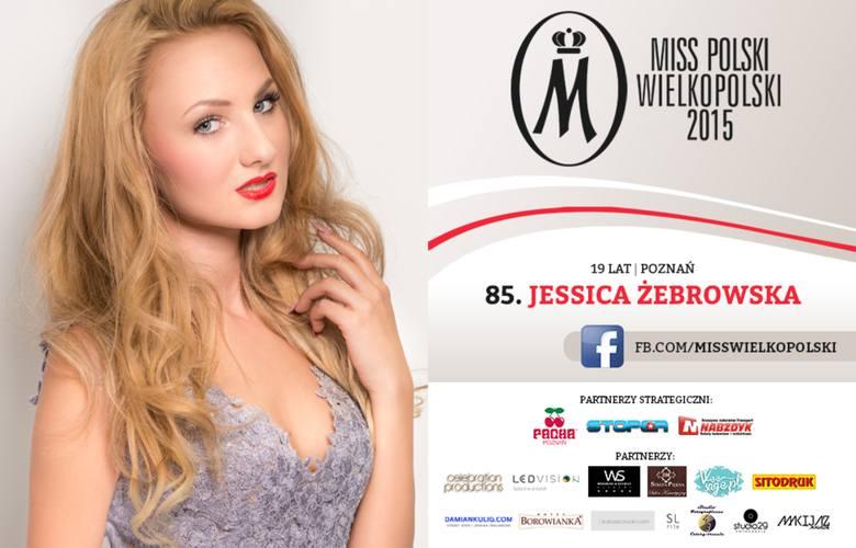 Międzyrzeczanka Jessika Żebrowska wystartuje w półfinałach konkursu Miss Wielkopolski, które odbędą się w piątek w Poznaniu.