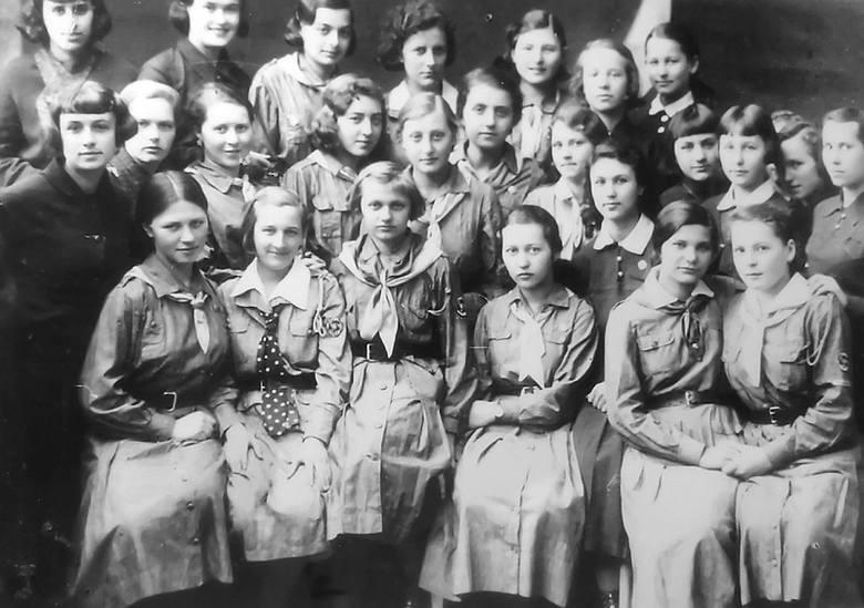 Harcerki z Czortkowa.