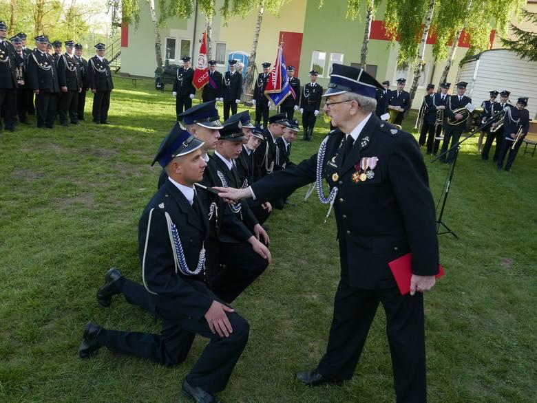 W Lubostroniu zorganizowano obchody strażackiego święta, podczas którego wyróżniono rycerzy św. Floriana z gminy Łabiszyn. Po mszy świętej w intencji